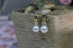 big pearl earrings
