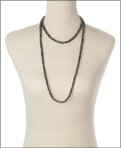 matinee long pearl necklace