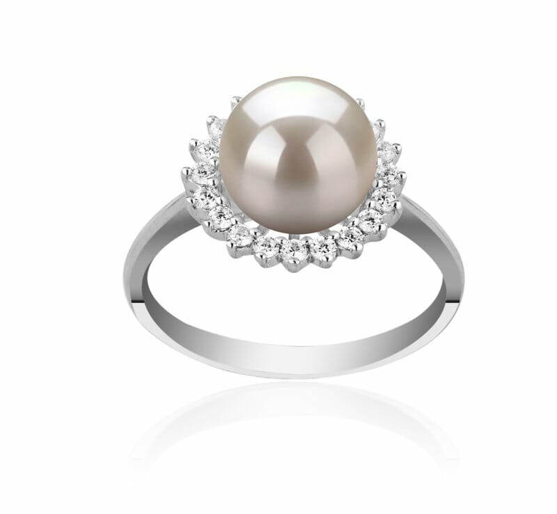 ce3dda118 The ring will either be a mix of pearls that vary in size or include one  large white pearl ...