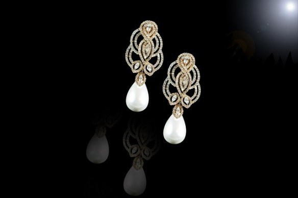 pearl earrings anniversary gift