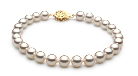 hanadama pearl necklace