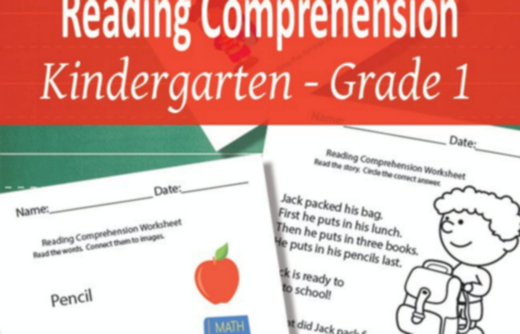 Reading Comprehention Activities And More