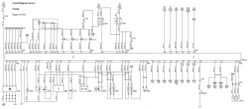 medium resolution of  vauxhall radio wiring diagrams untitled