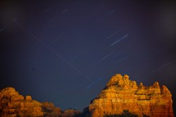 Sedona Star -Trails