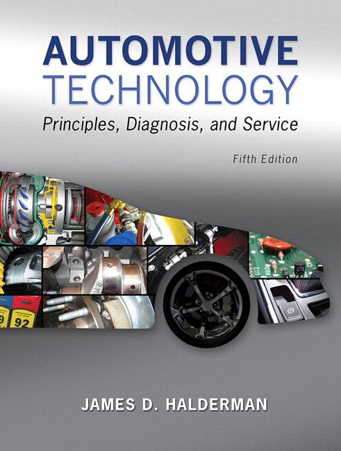 automotive comprehensive books pearson