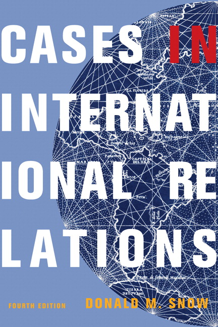 Snow Cases in International Relations  Pearson