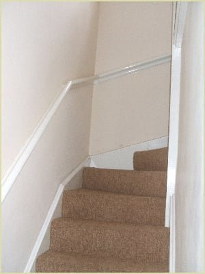 How To Install Handrails On A Wall | Continuous Handrail Winder Stair | Recessed | 30 Inch | Basement | Gooseneck | 90 Degree