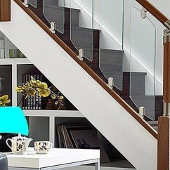 Open Plan Staircase In Living Room Ideas For A Tall Wall Five Ways To Update Stairs On Budget Go