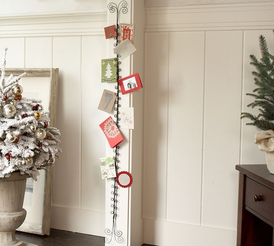 Put Your Christmas Cards On Display Pear Tree Blog