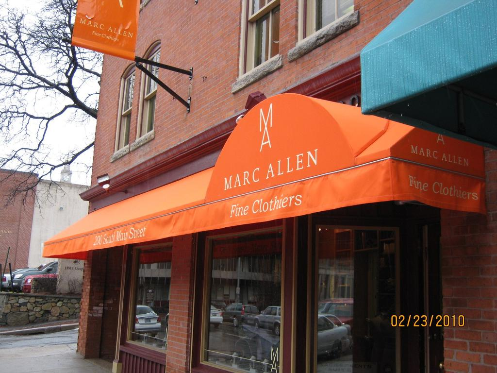 Store Front Awning Gallery LFPease Company