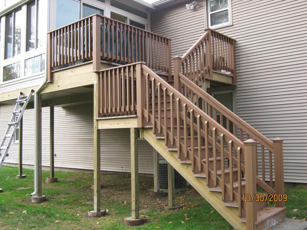 New Deck Or Patio Construction L F Pease Company