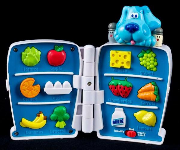 Le Chat Noir Boutique Blues Clues Refrigerator Game