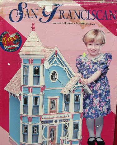 Le Chat Noir Boutique Duracraft SAN FRANCISCAN Dollhouse