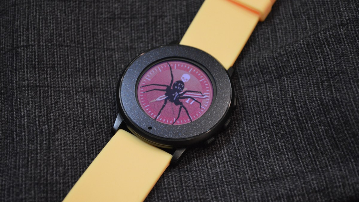 Pebble Watchface: Creepy