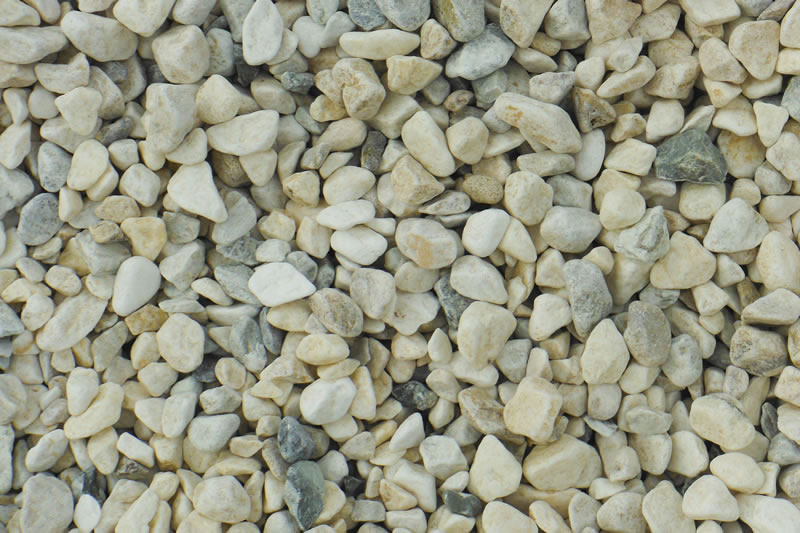 Oz Pebble Tumbled or Natural Pebbles Crushed Stone Basalt Peaches  Cream White Ash Coffs