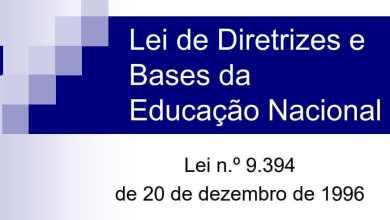 Photo of Material de Estudo: Resumo da LDB – Lei de Diretrizes e Bases Lei 9394/96