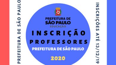 Photo of Cadastramento para Professor de Educação Infantil e Ensino Fundamental I – Prefeitura de São Paulo – 2020