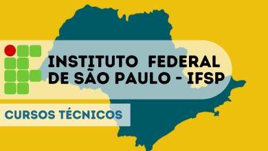 IFSP cursos técnicos