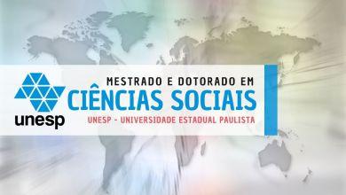 ciências sociais UNESP