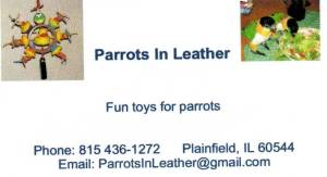 Parrots in Leather