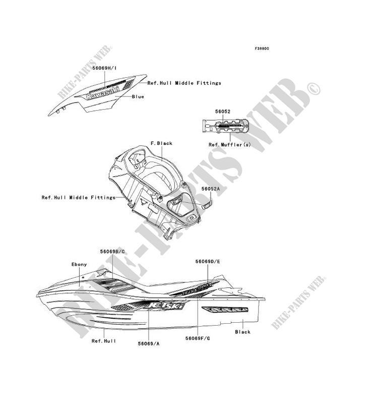 JT1500HCFA JET SKI ULTRA 300X 2012 1500 JET SKI Kawasaki