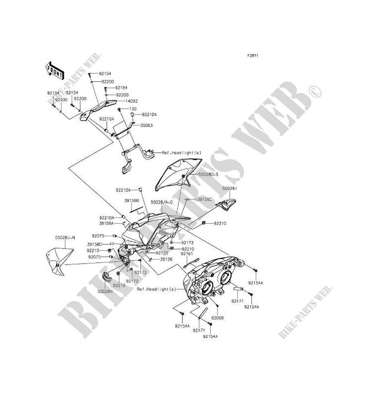 ZR800AGF Z800 2016 800 MOTOS Kawasaki motociclos