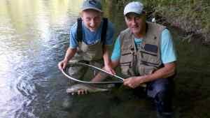 Stage de pêche père + enfant