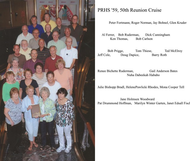 Class Of 59 50th Reunion Cruise