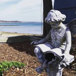 March 31, 11:30 a.m. Cutchogue Harbor, New Suffolk