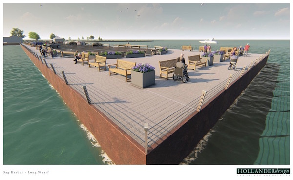 Sag Harbor's Long Wharf to Get a Facelift