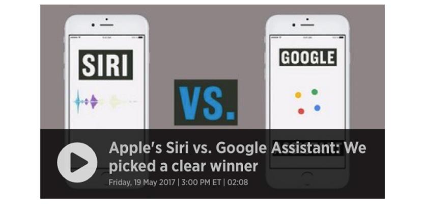 Siri vs. Google CNBC