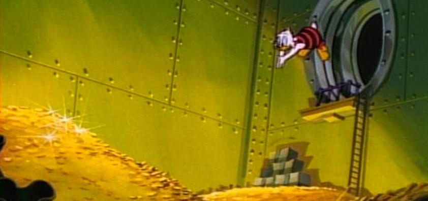 Scrooge McDuck's cash and cash equivalents
