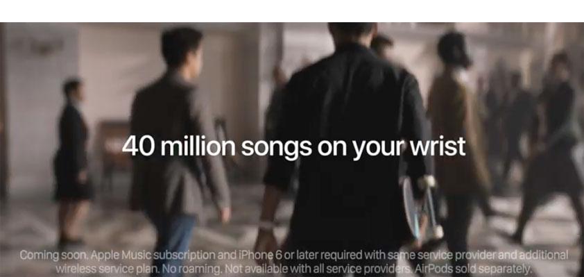 Apple Watch Series 3 ad