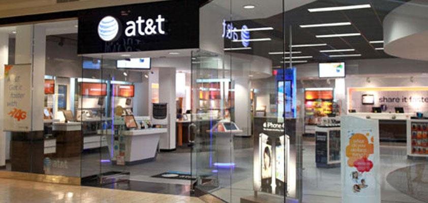 apple at&T biggest iPhone store