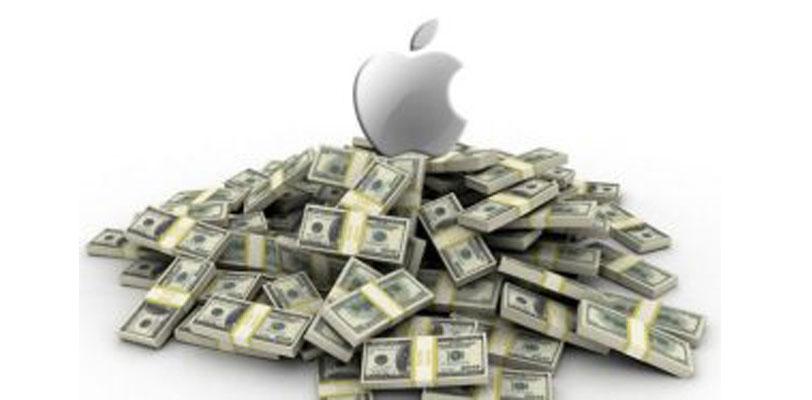 pile of Apple repatriated billions