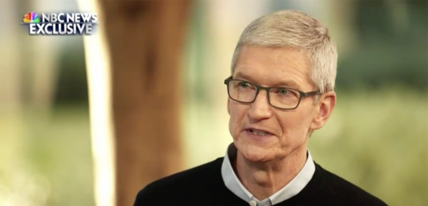 apple tarred tim cook nbc