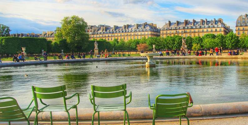 Apple park 39 s homage to the jardin des tuileries philip elmer dewitt - Jardin des tuileries foire ...