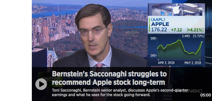 got apple wrong sacconaghi walkley Long