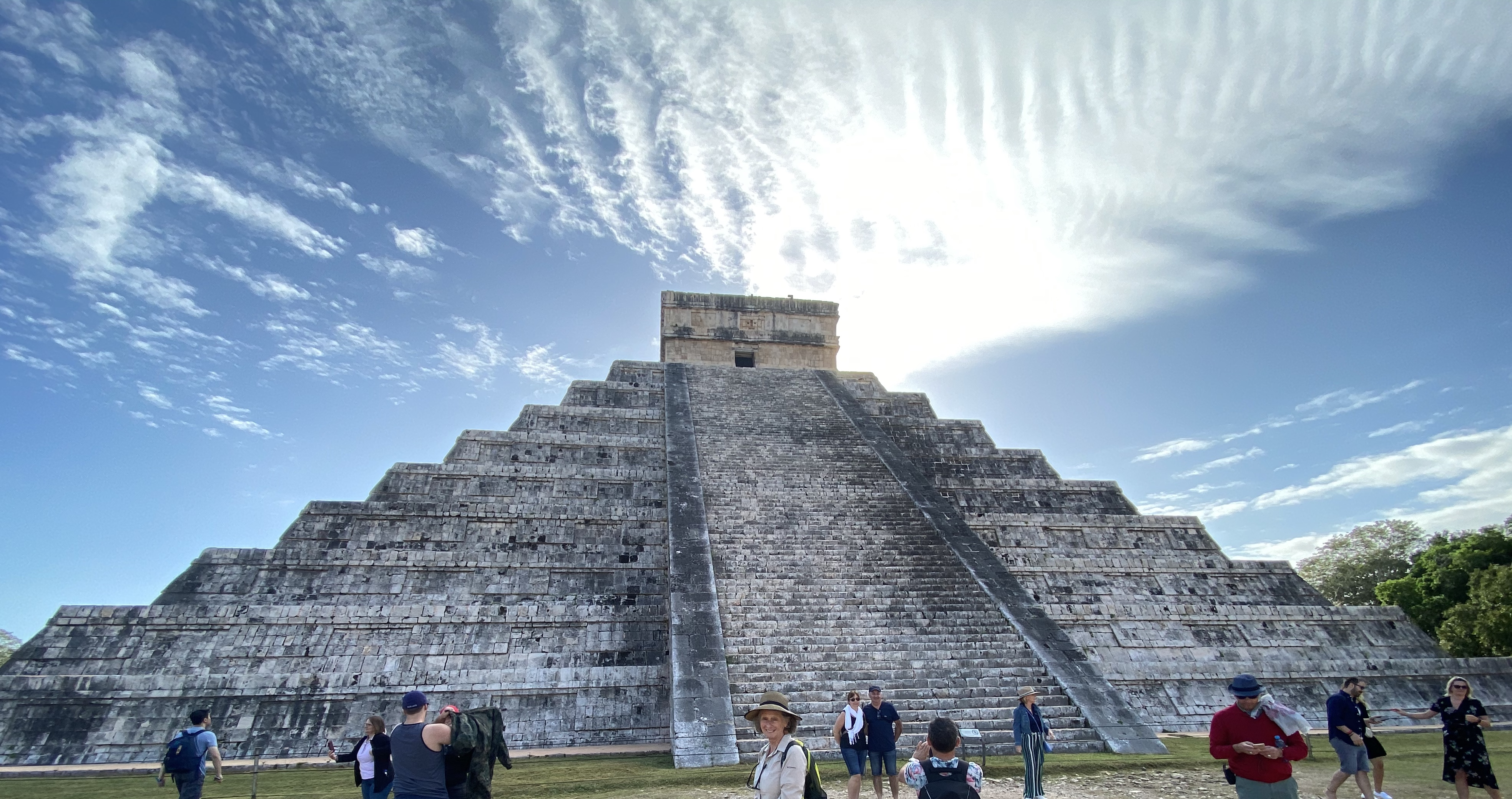 Greetings from Chichen Itza