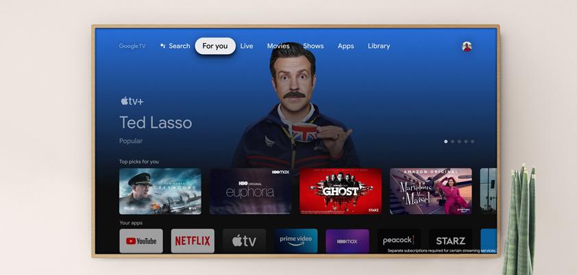 Apple TV google chromecast