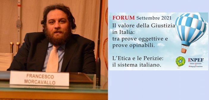 Francesco Morcavallo - Avvocato, già Giudice del Tribunale per i Minorenni - Docente nei Master INPEF