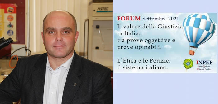 Prof. Stefano Vanin - Pres. Ass. Italiana ed Europea Entomologia Forense - Docente nei Master INPEF