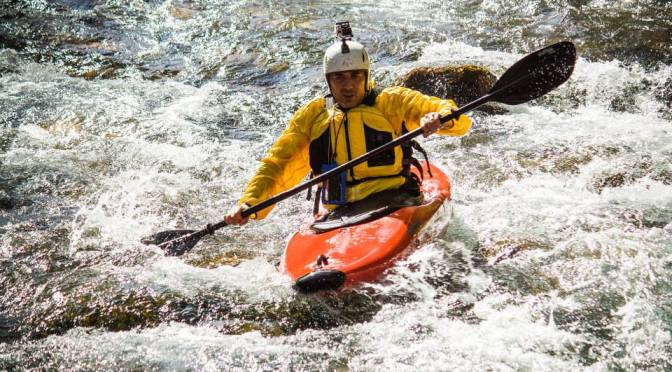 Whitewater kayaking on Kuckaja, Perucica and Zlorecica