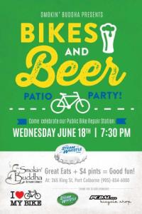 Steam Whistle Bikes and Beer patio party tonight! | Pedal ...