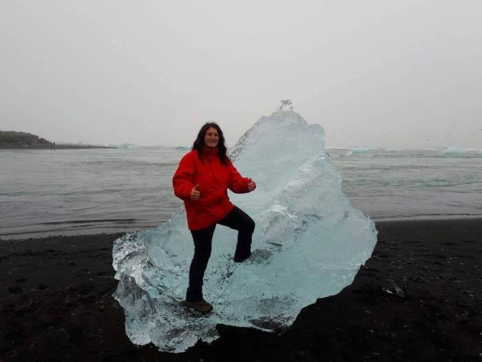 7 días por Islandia diamond beach