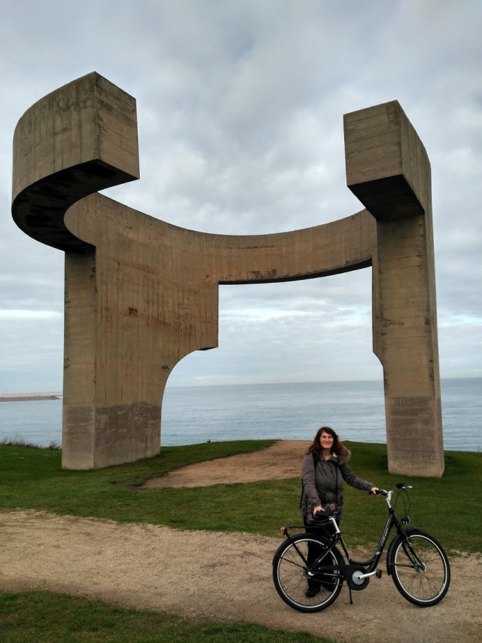 pedalear y viajar acerca de