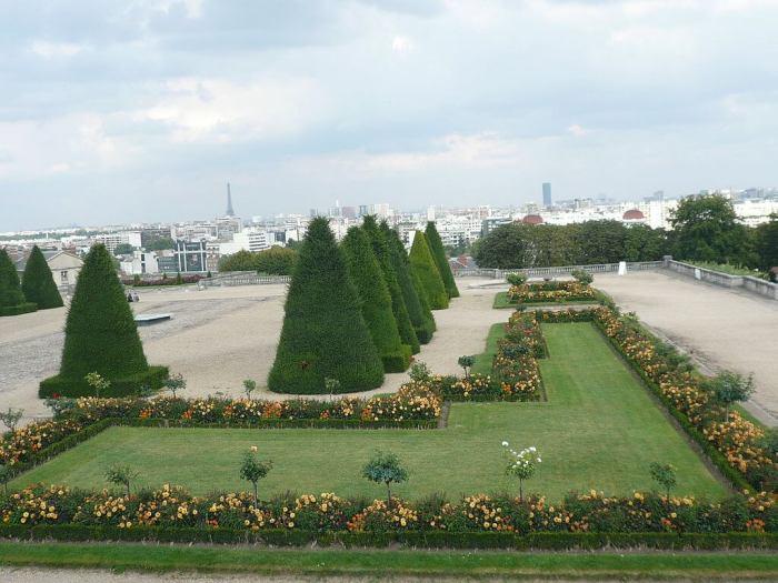 parque de saint-cloud afueras de París