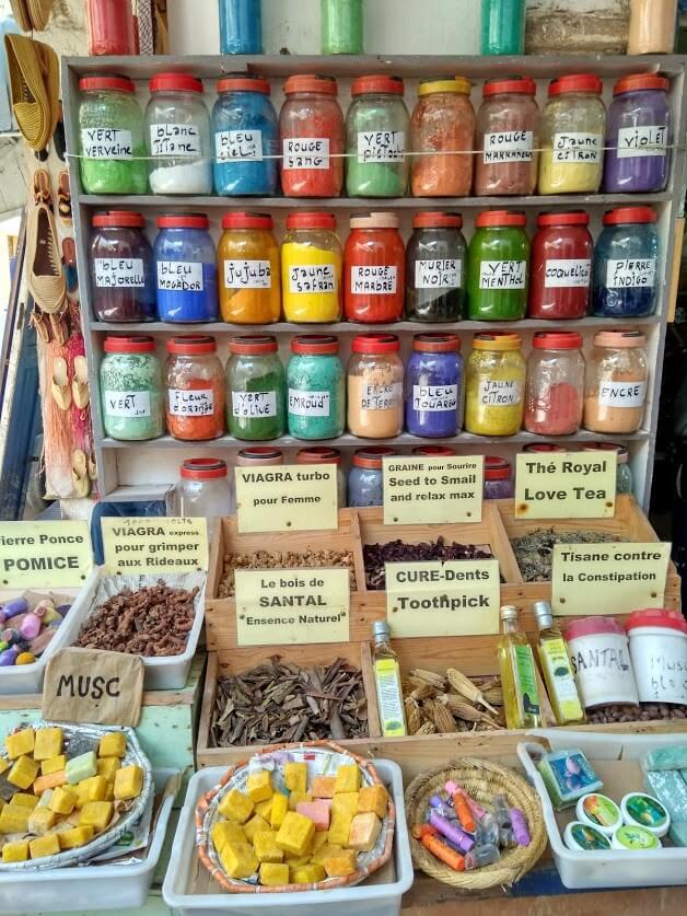 especias y productos naturales Marruecos