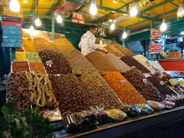 frutos secos especialidades de Marruecos