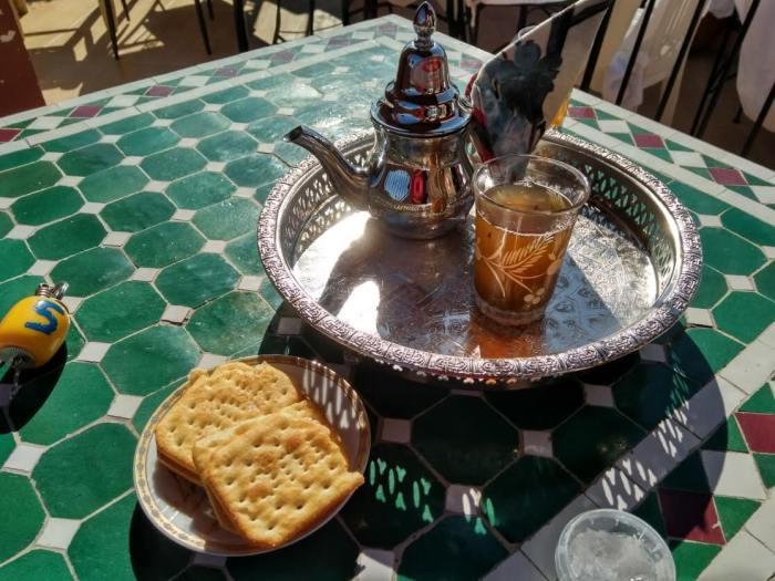 té a la menta especialidades de Marruecos